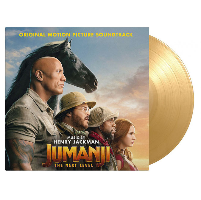 Original Soundtrack: Jumanji - The Next Level: Limited Edition Gatefold Dessert Sand Vinyl