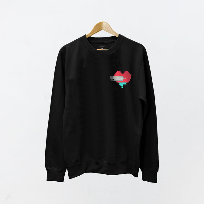 Bastille: Other Peoples Heartache PT.4 Heart Sweatshirt - S
