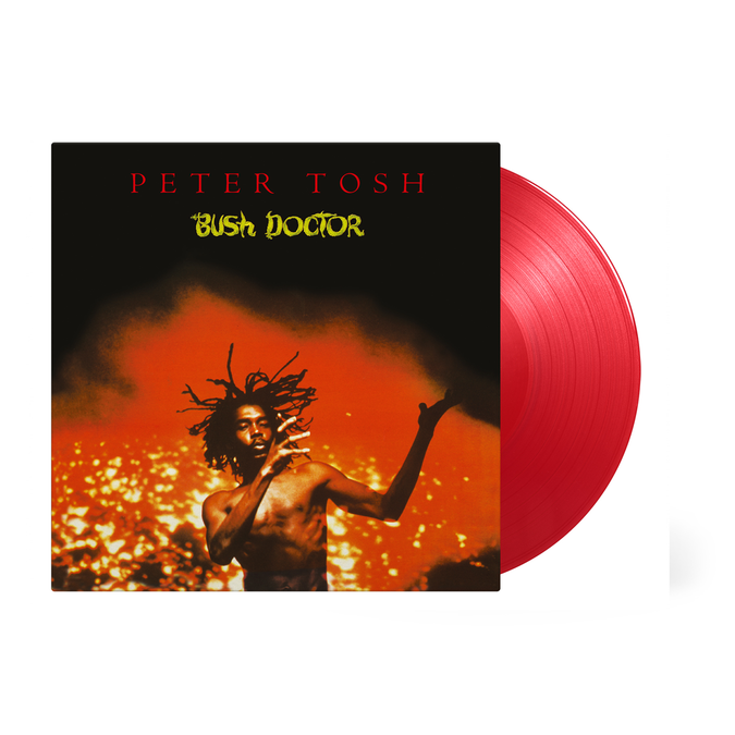 Peter Tosh: Bush Doctor: Limited Edition Transparent Red Vinyl