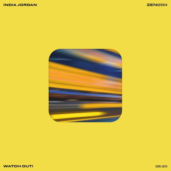 """India Jordan: Watch Out!: Limited Edition 12"""" Vinyl"""