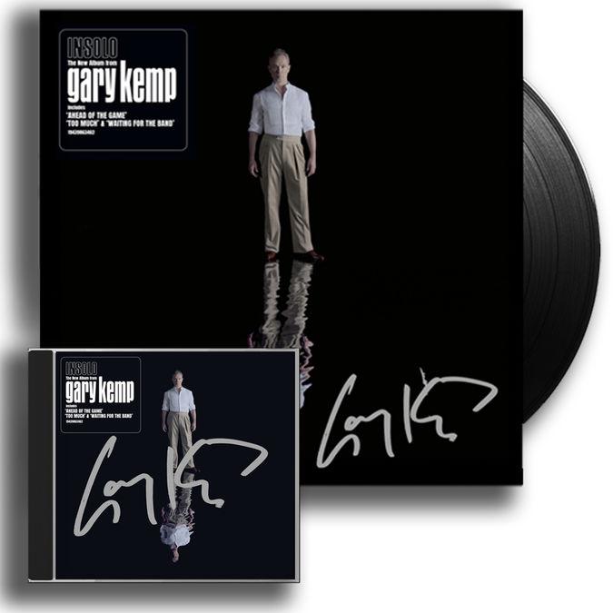 Gary Kemp: INSOLO Signed Vinyl & CD