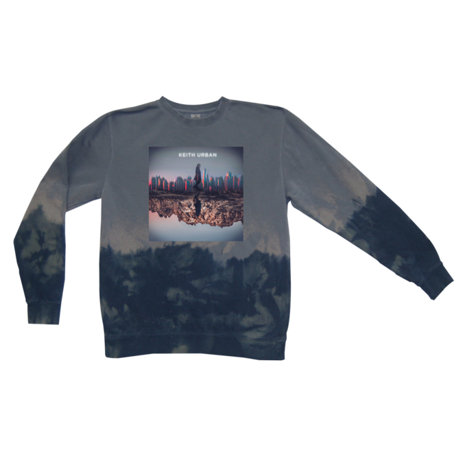 Keith Urban: Skyline Tie Dye Crewneck