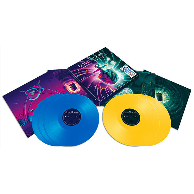 Original Soundtrack: Doctor Who - The Paradise Of Death & The Ghosts Of N-Space: Blue & Yellow Vinyl Box Set