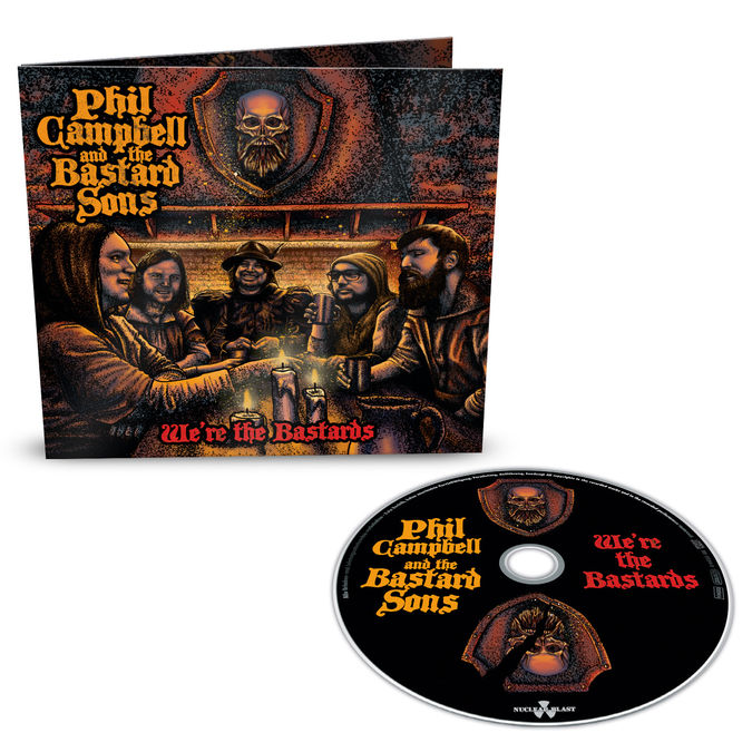 Phil Campbell: We Are The Bastards: Limited Edition Digipack CD