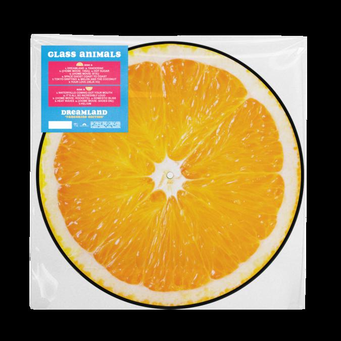 Glass Animals: Dreamland - Tangerine Picture Disc