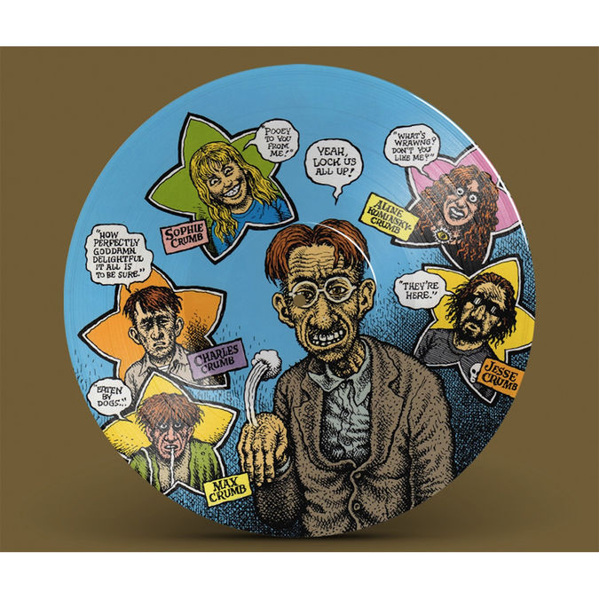 Various Artists: Crumb OST: Limited 25th Anniversary Edition Picture Disc