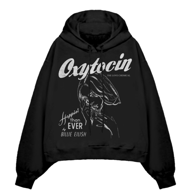 Billie Eilish: Oxytocin Black Hoodie