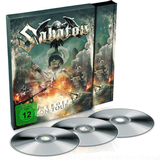 Sabaton: Heroes On Tour: Double DVD + CD Album + Poster