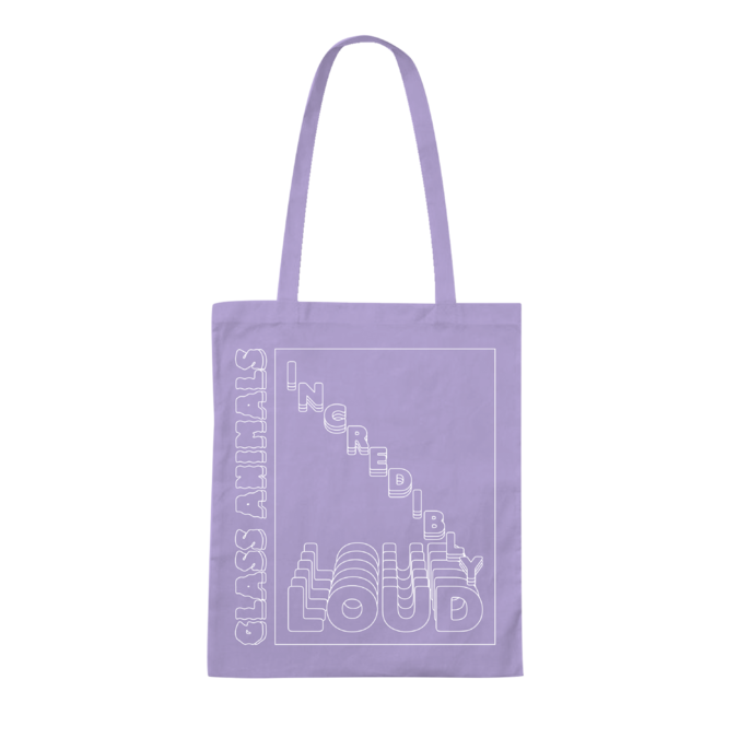 Glass Animals: INCREDIBLY LOUD PURPLE TOTE BAG