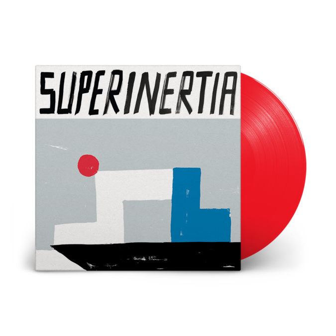 10000 Russos: Superinertia: Limited Deluxe Edition Red Vinyl LP
