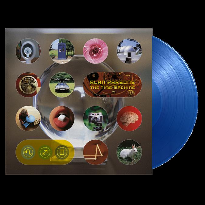 Alan Parsons: Time Machine: Limited Edition Translucent Blue Vinyl
