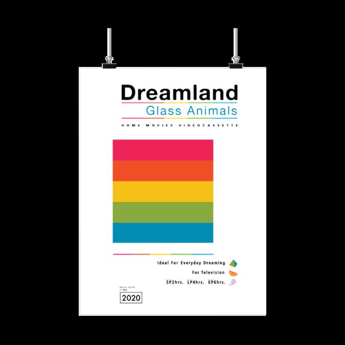 Glass Animals: DREAMLAND A2 POSTER