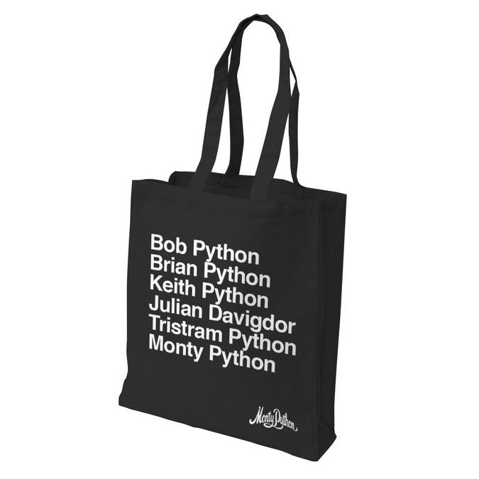 Monty Python: 50th Anniversary Tote Bag