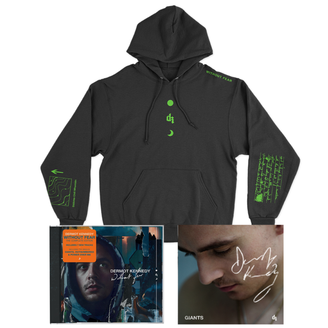 Dermot Kennedy: WITHOUT FEAR COMPLETE EDITION: CD, HOODIE + SIGNED INSERT