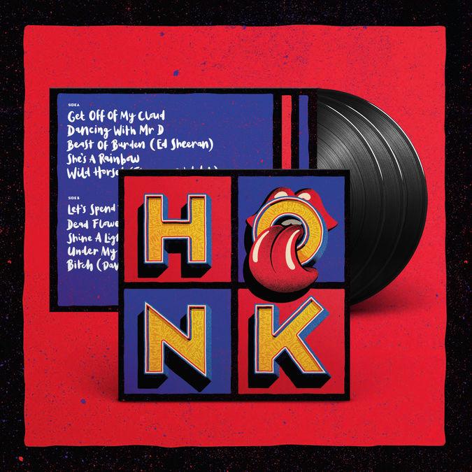 The Rolling Stones: Honk 3LP