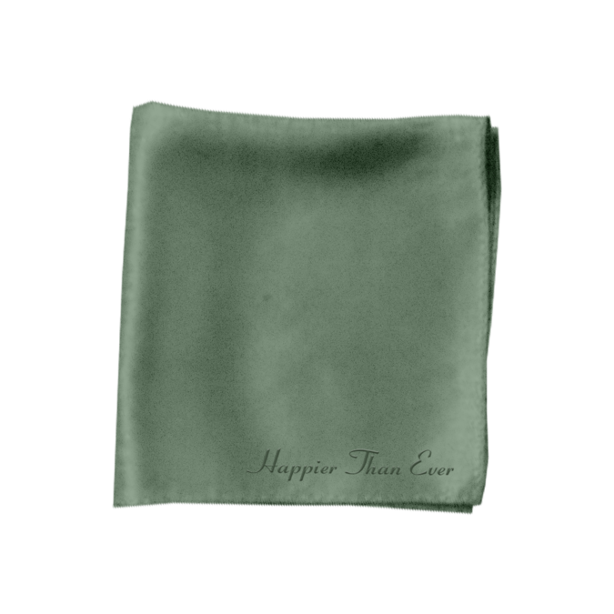 Billie Eilish: Happier Than Ever Satin Bandana