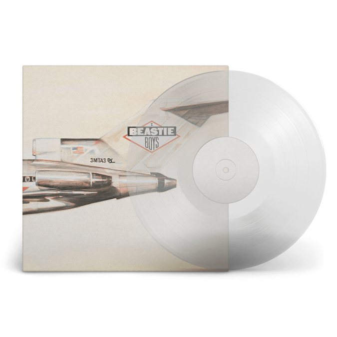 Beastie Boys: Licensed To Ill: Exclusive Clear Coloured Vinyl