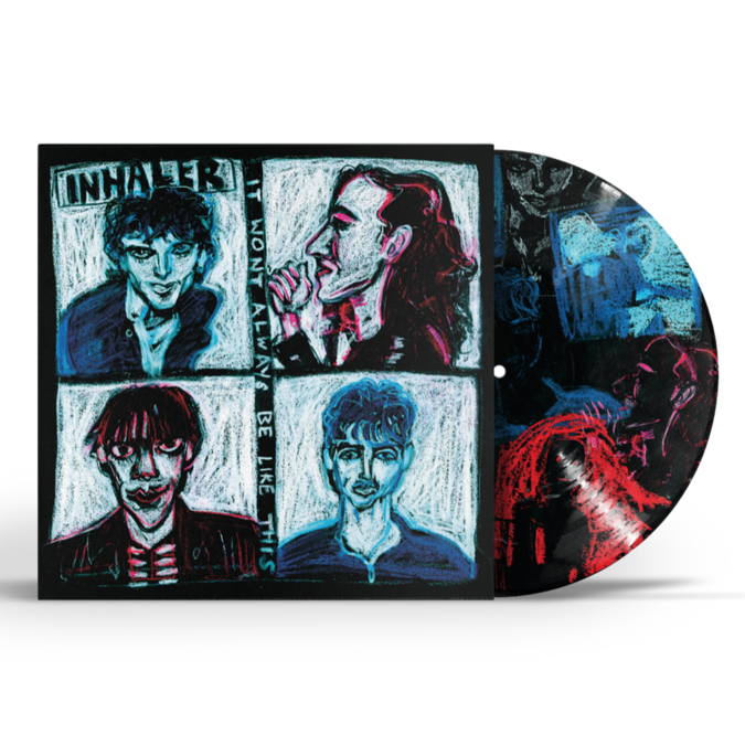 Inhaler: It Won't Always Be Like This: Limited Edition Noel Fielding Vinyl