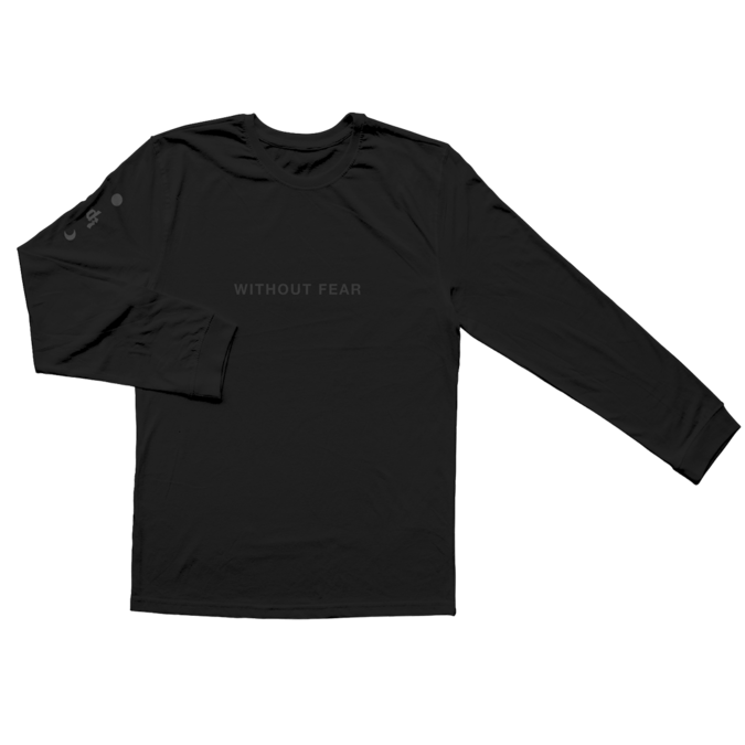Dermot Kennedy: Wicklow Mountains Longsleeve: Black on Black Edition - M