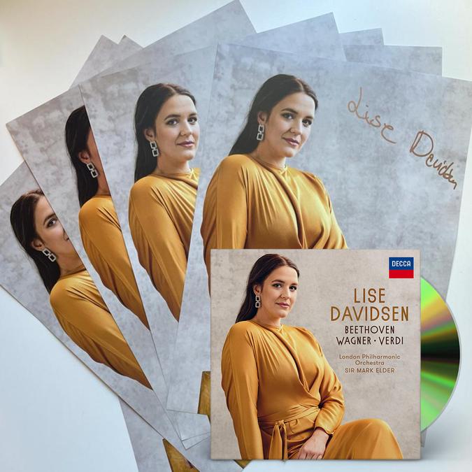 Lise Davidsen: Lise Davidsen CD & Signed poster bundle