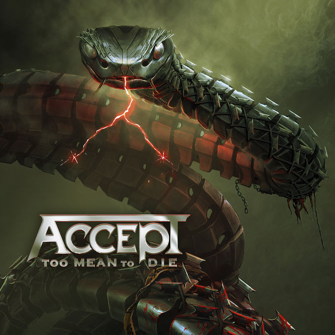 Accept: Too Mean To Die: CD + Signed Photocard