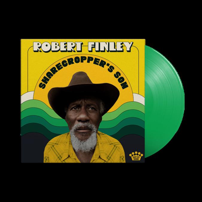 Robert Finley: Sharecropper's Son: Fern Green Vinyl LP + Art Print [signed by Dan Auerbach + Robert Finley]