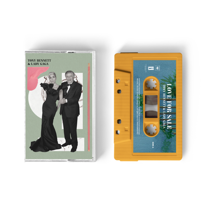 Tony Bennett & Lady Gaga: Love For Sale UK Exclusive Apricot Cassette
