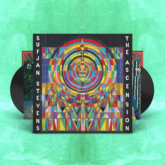 Sufjan Stevens: The Ascension: Classic Black Double Vinyl