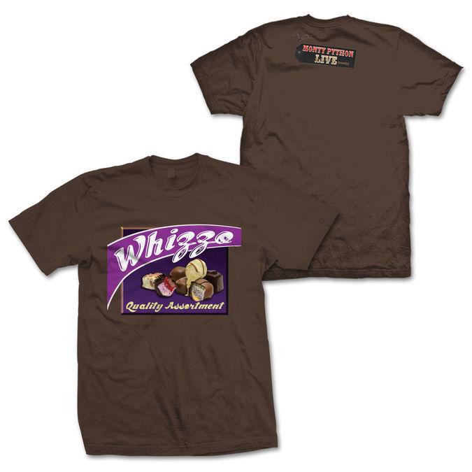 Monty Python: Whizzo Quality Assortment Chocolate T-Shirt Small