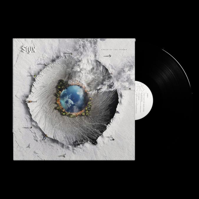 Styx: Crash Of The Crown: LP