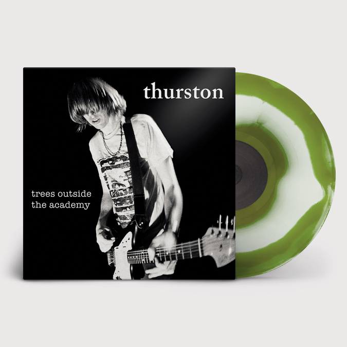 Thurston Moore: Trees Outside The Academy [Remastered]: Limited Edition Cream & Army Green Swirl Vinyl + Fanzine