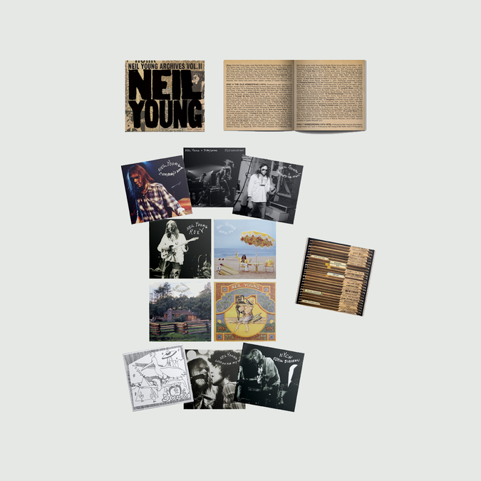 Neil Young: ARCHIVES VOL II (1972 – 1976): Limited Edition Box Set
