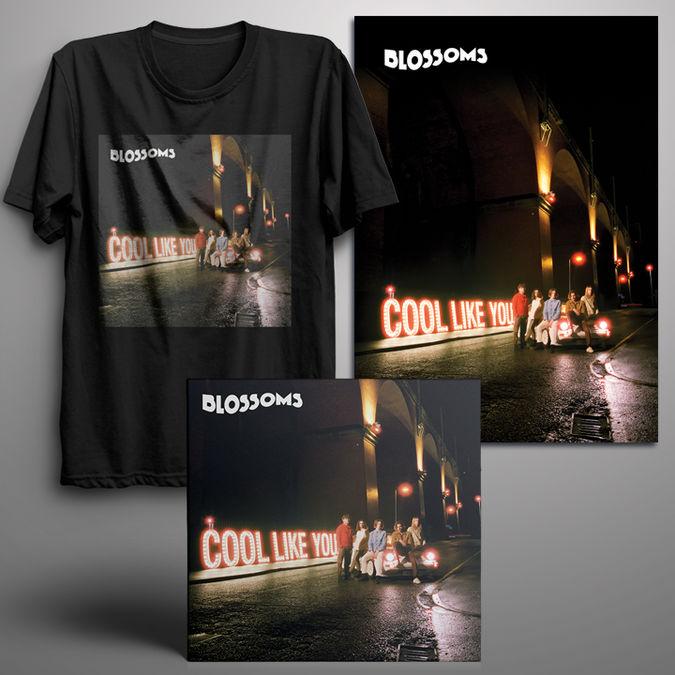 Blossoms: Signed Standard CD + Digital Album + T-Shirt + Signed Art Print