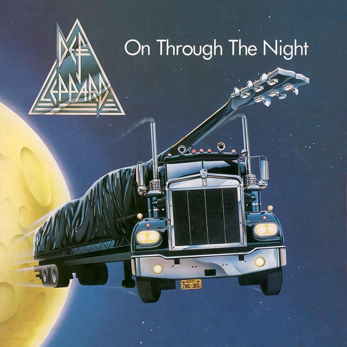 Def Leppard: On Through The Night: Black Vinyl
