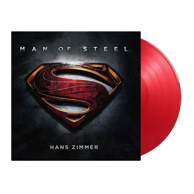 Hans Zimmer: Man Of Steel: Limited Edition Translucent Red Vinyl