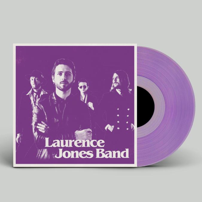 Laurence Jones: Laurence Jones Band: Signed Limited Edition Amethyst Vinyl LP