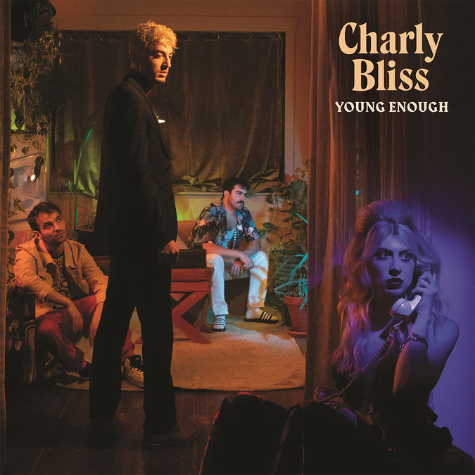 Charly Bliss: Young Enough: Limited Edition Translucent Blue Vinyl with Exclusive Signed Poster
