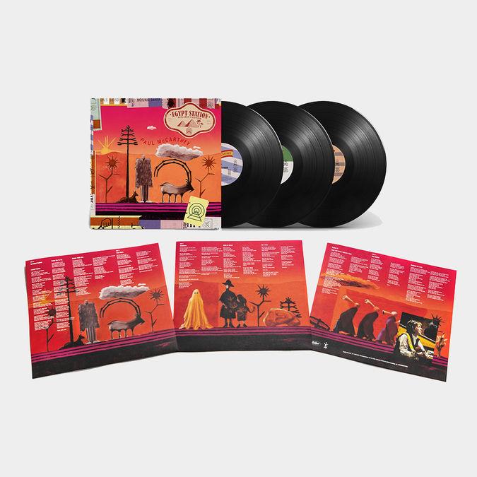 Paul McCartney: Egypt Station - Explorer's Edition 3LP