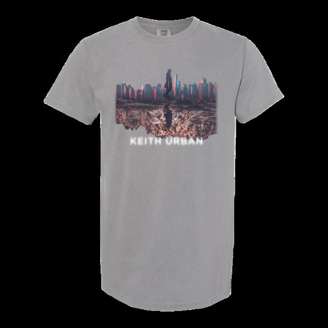 Keith Urban: Skyline Grey Tshirt