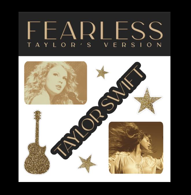 Taylor Swift: Album Sticker Set