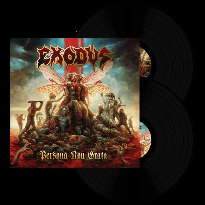 Exodus: Persona Non Grata: Black Vinyl 2LP