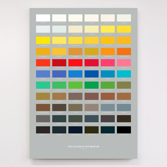 Dorothy: The Colour of The Beatles Litho Print Poster
