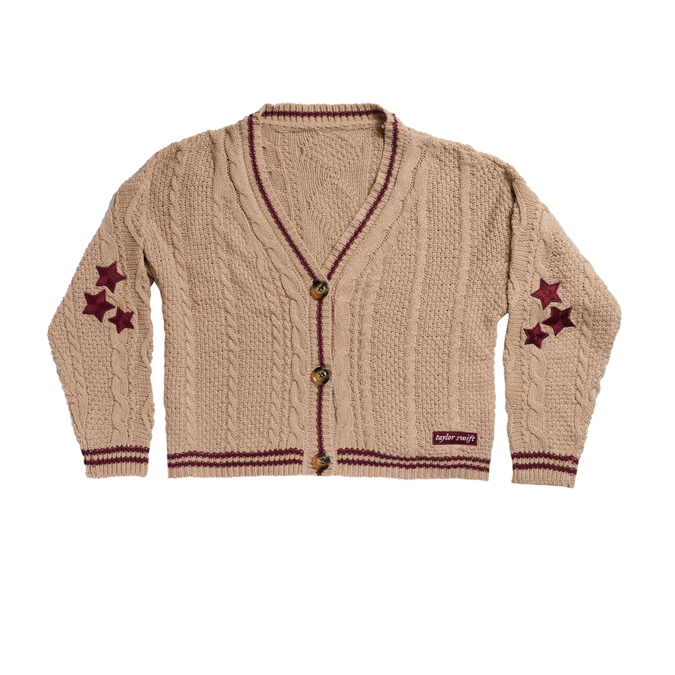 Taylor Swift: the cardigan - beige limited edition