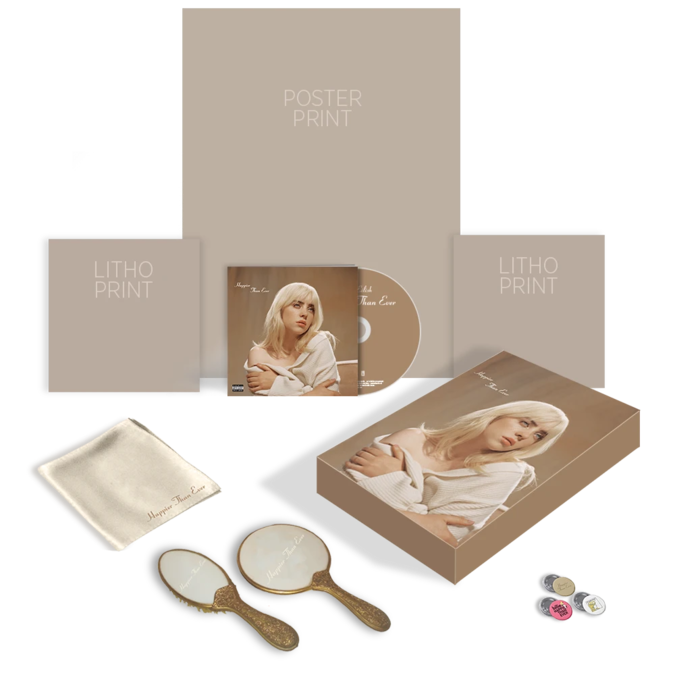 Billie Eilish: 'Happier Than Ever' Super Deluxe Box Set