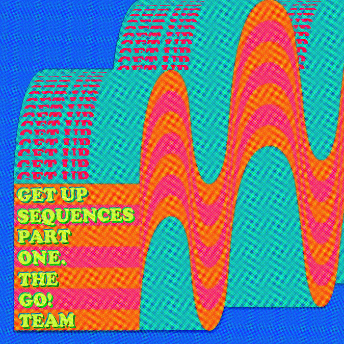The Go! Team: Get Up Sequences Part One: Black Vinyl LP