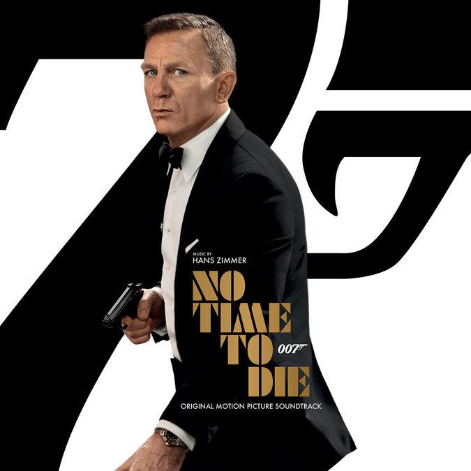 Hans Zimmer: Bond: No Time To Die CD [SIGNED] + Bond 25
