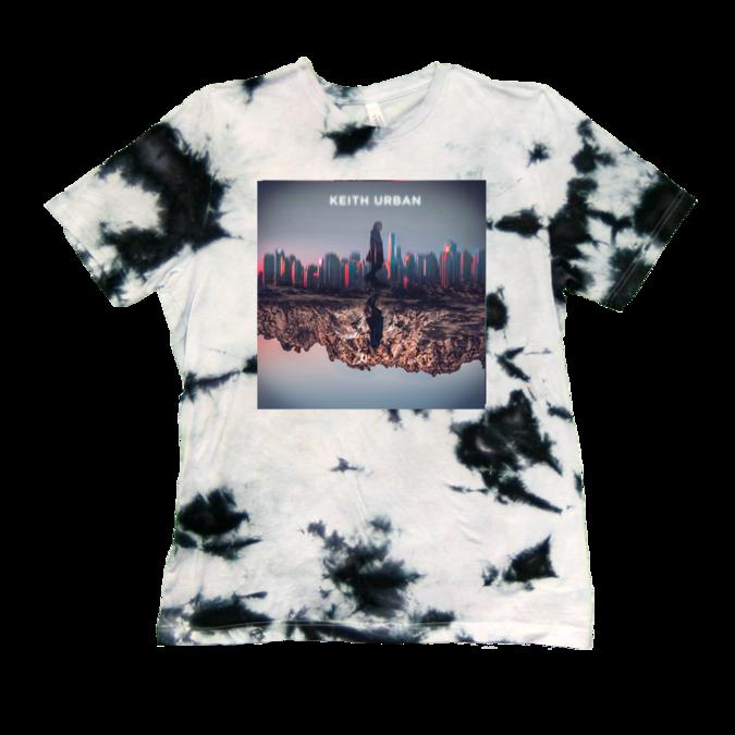 Keith Urban: Skyline Tie Dye Tshirt