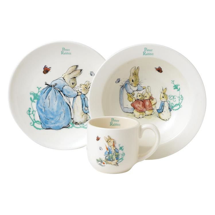 Peter Rabbit Peter Rabbit 3 Piece Nursery Set