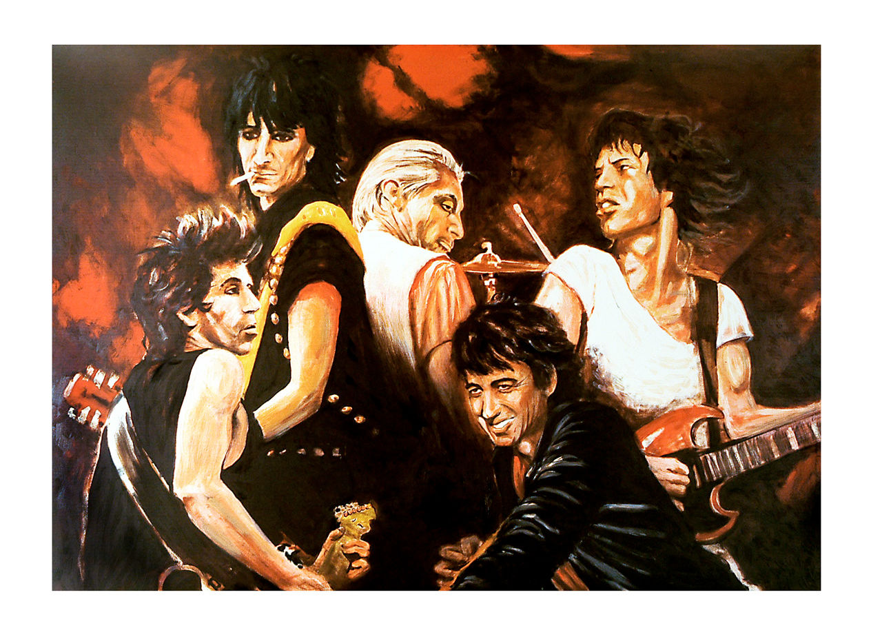 Ronnie Wood: Stones in Sepia III - Collectors Series