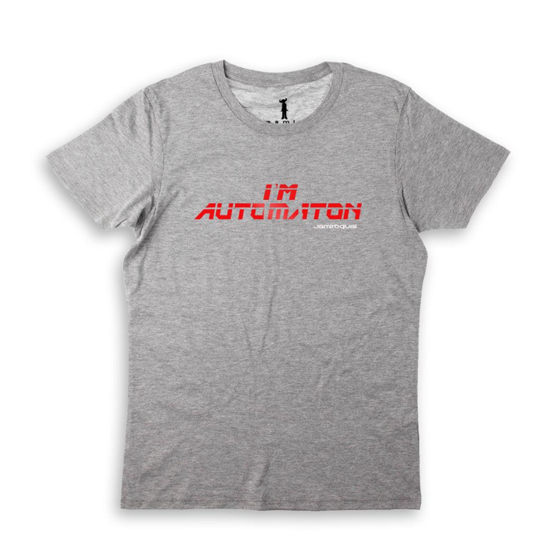 Jamiroquai: I'm Automaton Grey T-Shirt